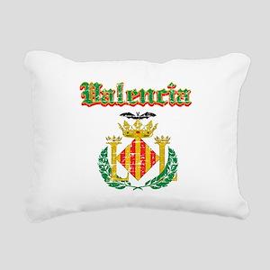 Valencia City Designs Rectangular Canvas Pillow
