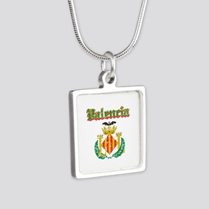 Valencia City Designs Silver Square Necklace