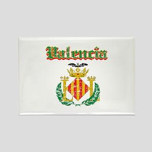 Valencia City Designs Rectangle Magnet