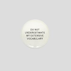 Do Not Vocab Mini Button