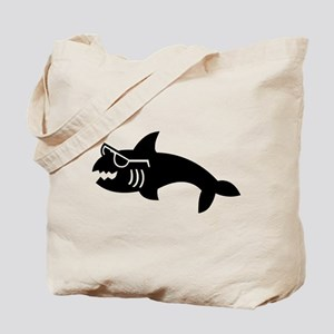 Hipster Shark Tote Bag