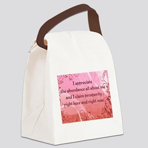 Prosperity Canvas Lunch Bag