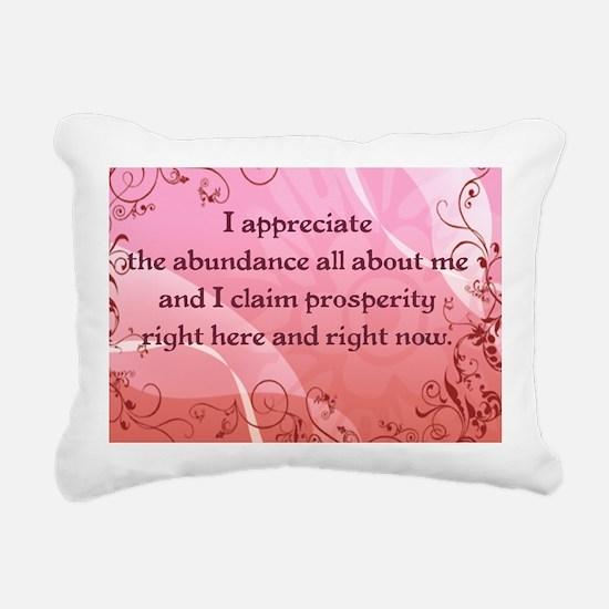 Prosperity Rectangular Canvas Pillow