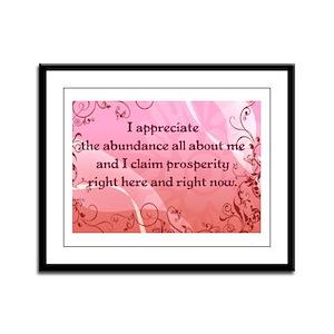 Prosperity Framed Panel Print