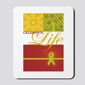 Celebrate Life Holiday Collection Mousepad