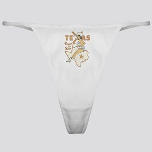 Vintage Texas Pinup Classic Thong