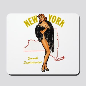 Vintage New York Pinup Mousepad