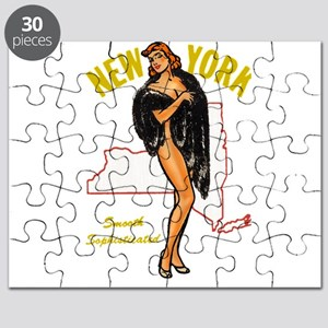 Vintage New York Pinup Puzzle