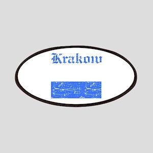 Krakow flag designs Patches
