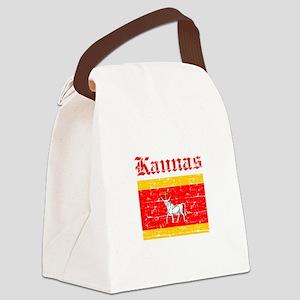 Laspalmas flag designs Canvas Lunch Bag