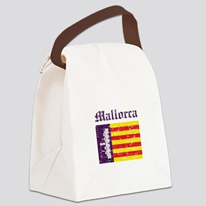 Mallorca flag designs Canvas Lunch Bag