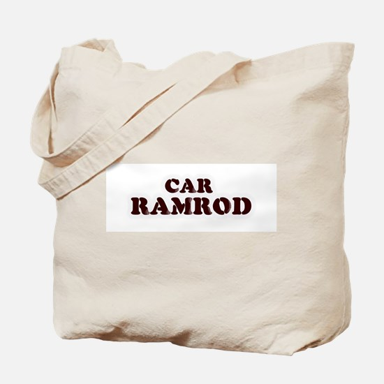 Car Ramrod Tote Bag