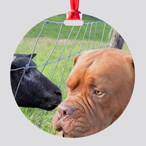 Dogue de Bordeaux Ornament