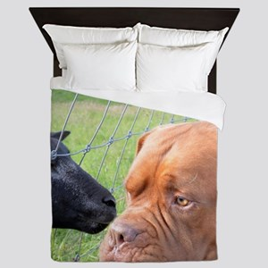 Dogue de Bordeaux Queen Duvet