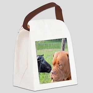 Dogue de Bordeaux Canvas Lunch Bag