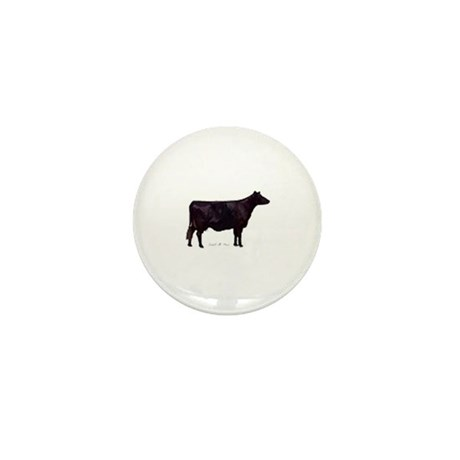 Angus Beef Cow Mini Button (10 pack)