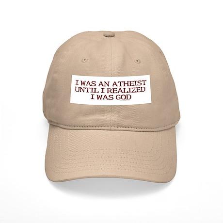 I was an atheist ... Cap