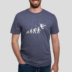 Evolution of Man Mens Tri-blend T-Shirt