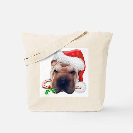 Shar-Pei Christmas Tote Bag
