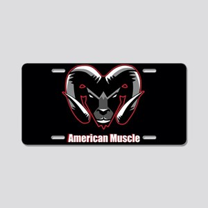 American Muscle Aluminum License Plate
