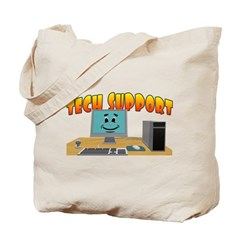 Happy Tech Support Tote Bag