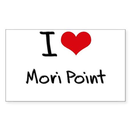 I Love MORI POINT Sticker
