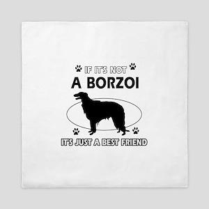 Borzoi merchandise Queen Duvet