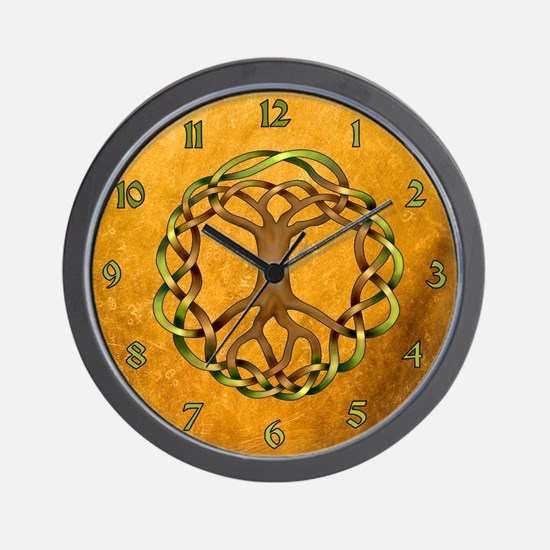 Yggdrasil Wall Clock