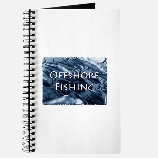 Offshore Fishing Tuna Logo Journal