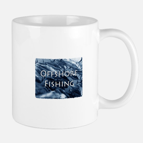Offshore Fishing Tuna Logo Mug