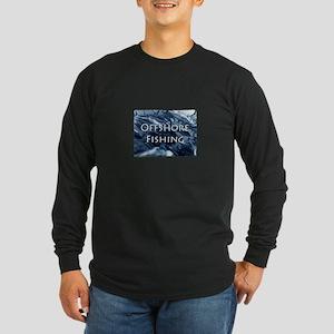 Offshore Fishing Tuna Logo Long Sleeve T-Shirt