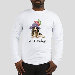 Basset Pirate Long Sleeve T-Shirt