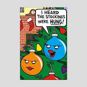 Stockings Hung Mini Poster Print