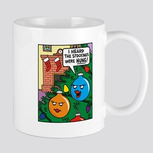 stockings hung mug - Funny Christmas Stockings