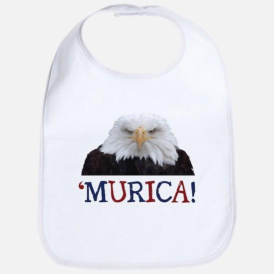 Murica! Bald Eagle Bib