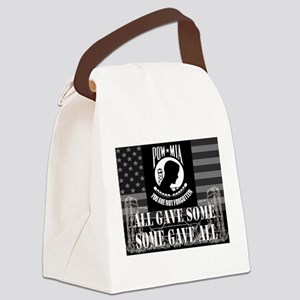 Pow-Mia All Gave Some Some Gave All Canvas Lunch B