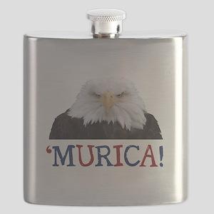 Murica! Bald Eagle Flask