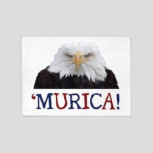Murica! Bald Eagle 5'x7'Area Rug