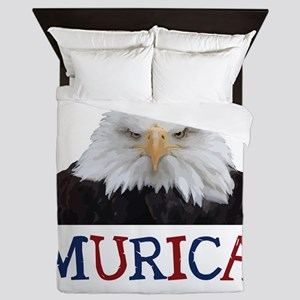 Murica! Bald Eagle Queen Duvet