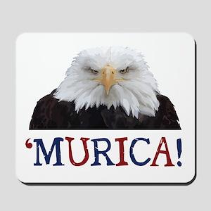 Murica! Bald Eagle Mousepad
