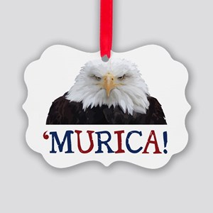 Murica! Bald Eagle Ornament