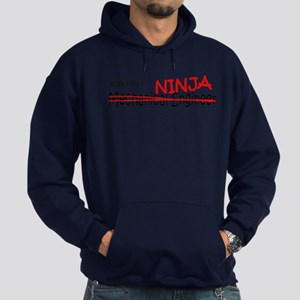 Job Ninja Mech Eng Hoodie (dark)