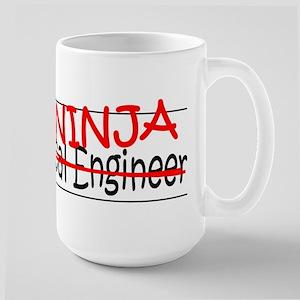 Job Ninja Mech Eng Large Mug