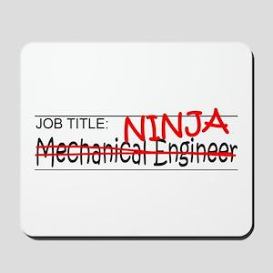 Job Ninja Mech Eng Mousepad