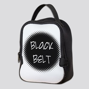 Martial Arts Black Belt Neoprene Lunch Bag