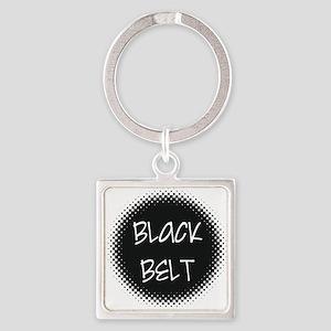 Martial Arts Black Belt Keychains