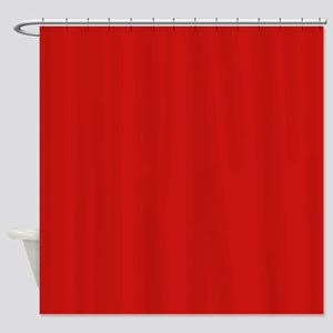 Poppy Red Shower Curtain