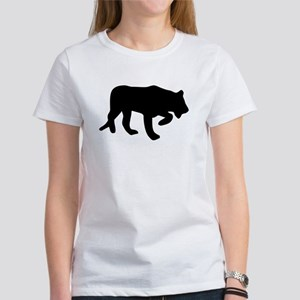 Black Panther Silhouette T-Shirt