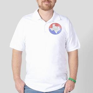 Vintage Dallas Flag Golf Shirt