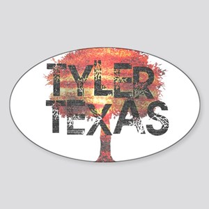 Tyler Texas Tree Sticker